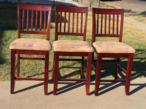 Four barstools in good condition. for Sale in Fresno, CA