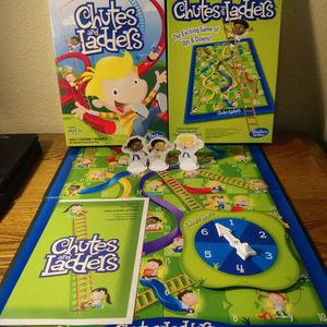 Hasbro Chutes and Ladders Board Game - 2013 - Complete In Box Great Condition for Sale in Winchester, CA