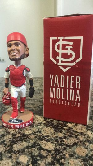 St. Louis Cardinals Yadier Molina Bobblehead 2018 for Sale in St. Louis, MO