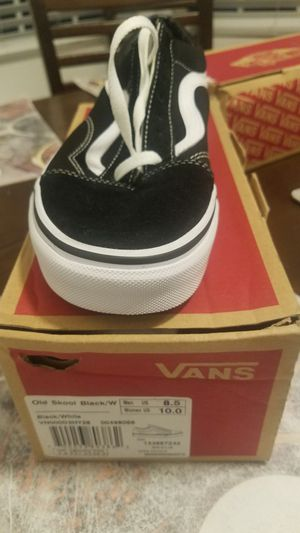 Black Vans Old Skool for Sale in Bakersfield, CA