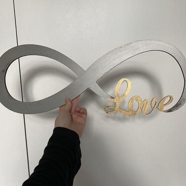 Infinity Love Sign - Wedding Decor Or Home Decor