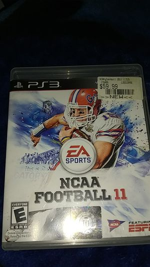 NCAA 11 PS3 for Sale in Knoxville, TN