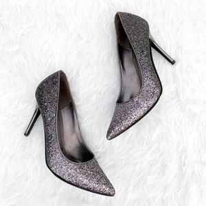 MICHAEL KORS Claire Metallic Glitter Sparkle Pumps Heels 8 for Sale in Placentia, CA