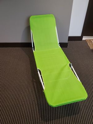 Outdoor fold down lounge chair for Sale in San Diego, CA
