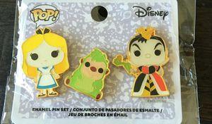 Disney Alice in Wonderland Funko Pin Set for Sale in Philadelphia, PA
