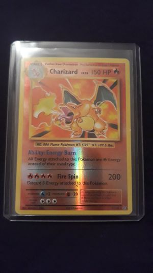 Pokemon Charizard Reverse Holographic Card for Sale in Gig Harbor, WA