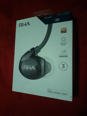 RHA T20i Headphones Earbuds Brand New for Sale in San Antonio, TX