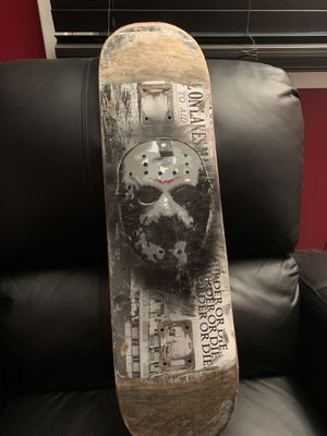 Jason Voorhees skateboard deck for Sale in North Royalton, OH