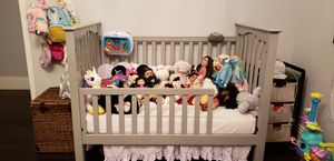 Pottery Barn Crib with Toddler Converter and Matress. In Excellent Condition. for Sale in Los Angeles, CA