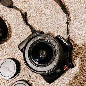 Canon Rebel EOS t3 for Sale in Clovis, CA