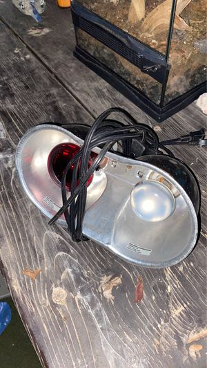 double lamps for reptiles for Sale in San Diego, CA