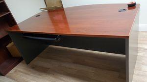Extra large Cherry topped desk for Sale in Jupiter, FL