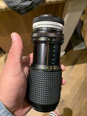 DSLR Camera lens OBO for Sale in Las Vegas, NV