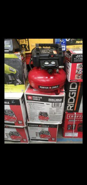 PORTER CABLE COMPRESSOR 6 GALLON 150 PSI for Sale in Colton, CA