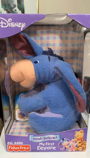 Disney Pooh Babies My First Eeyore ALL AGES FIsher Price for Sale in El Cajon, CA