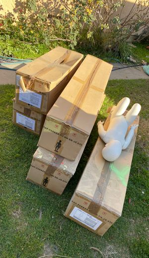 GAP for kids Bernstein display mannequins 5 new in box one used for Sale in Bellflower, CA