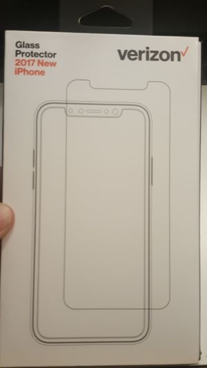 """tempered glass verizon for iphone X 5.8"""" new now ship out of the town for Sale in Phoenix, AZ"""