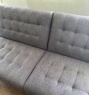 Clayton Grey Futon Sofa Bed for Sale in Castro Valley, CA