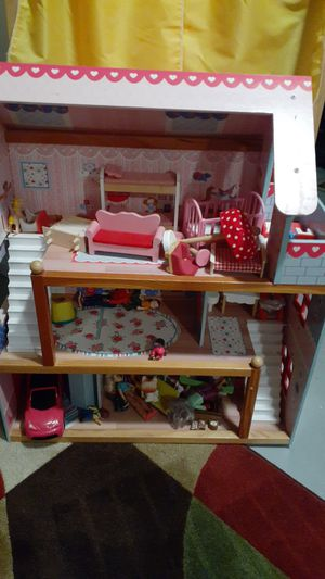 Doll house an accs for Sale in East Providence, RI