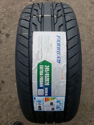 245 45 20 farroad tires for Sale in Garden Grove, CA