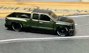 Hotwheels custom Chevy Silverado with Rubber Wheels for Sale in Fullerton, CA
