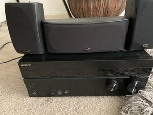 Sony 7.2 channel AV 4K Receiver and Surround Sound for Sale in Goodyear, AZ