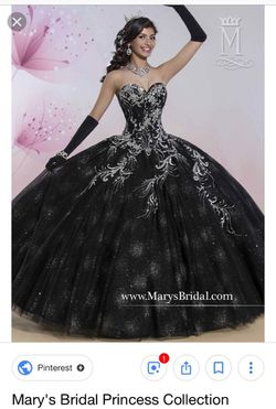 Mary's Bridal Quinceañera Antique - Black Dress for Sale in Fort Lauderdale,  FL