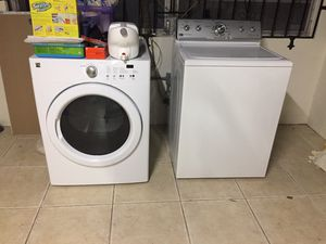 Kenmore dryer and Maytag washer for Sale in North Miami, FL