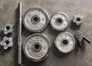 Adjustable Dumbbell with Weights for Sale in Kenmore, WA