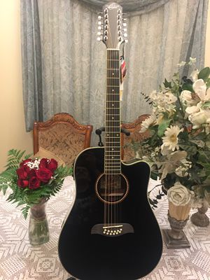 Oscar Schmidt 12 string electric acoustic guitar for Sale in South Gate, CA