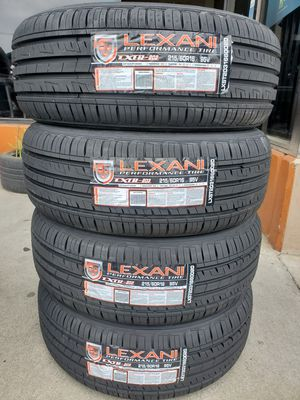 215 60 16 LEXANI TIRES CAMRY ALTIMA ACCORD for Sale in Rancho Cucamonga, CA