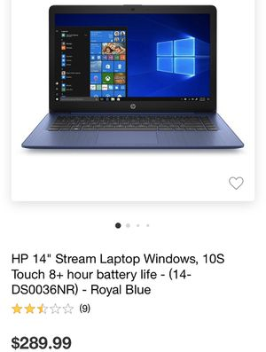 Hp lap top with a touch screen for Sale in Starkville, MS