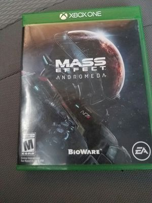 Xbox one mass effect andromeda for Sale in Santa Ana, CA