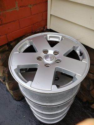 18 inch jeep wrangler wheels for Sale in New Britain, CT