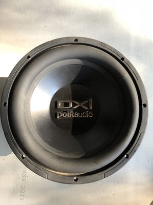 "Polk audio speaker 10"" for Sale in Gates Mills, OH"
