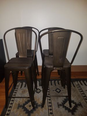 Metal Counter Stools Set of 2 for Sale in Alexandria, VA
