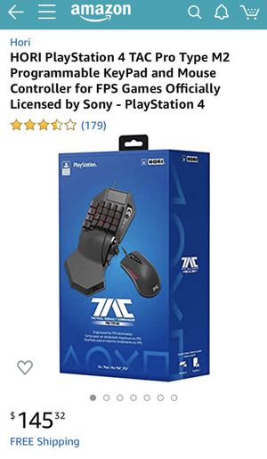 TAC PRO M2 keyboard mouse for Ps4 for Sale in Whittier, CA