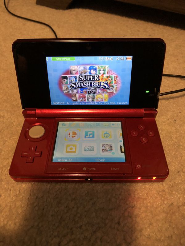 Nintendo 3DS with Super Smash Bros