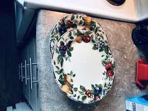 Two plates both for $3 for Sale in Portland, OR