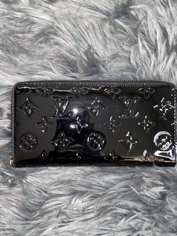 Cute Black Monogram Zipper Wallet for Sale in Murrieta,  CA