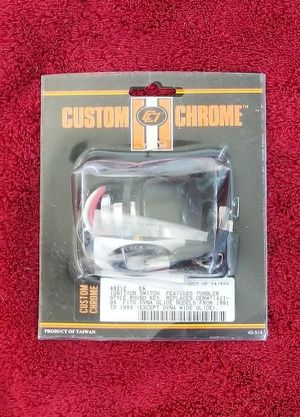 Custom Chrome Ignition Switch With Key Replacement for Sale in El Mirage, AZ