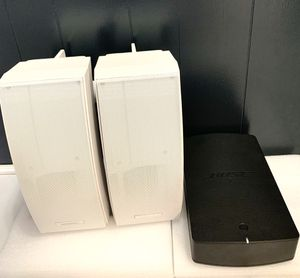 Bose 251 Environmental Speakers with Amplifier for Sale in Carol City, FL