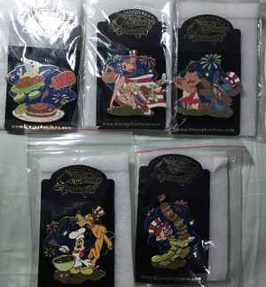 Disney Auctions 4th of July BBQ pins for Sale in Oakland Park, FL