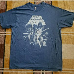 Stars Wars T-Shirt Adult Large Original Cast New vintage style graphic Tee for Sale in Whittier, CA