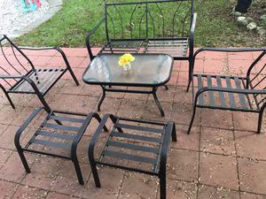 6 pieces outdoor patio furniture set for Sale in Shoreline, WA