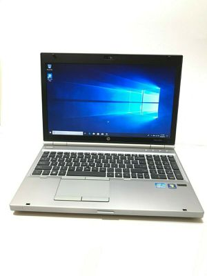 HP EliteBook 8570p 15.6-inch Laptop PC, Dual Core i5-3320M 2.6GHz (8GB RAM DDR3, 500GB HDD) DVD-RW, 4X USB, Windows 10 Pro Laptop PC for Sale in Brooklyn, NY