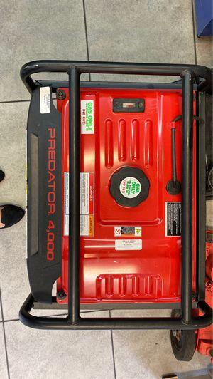 Predator generator 4000 26 amps for Sale in Orlando, FL