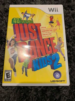Just Dance Kids 2 for Nintendo Wii for Sale in Apex, NC