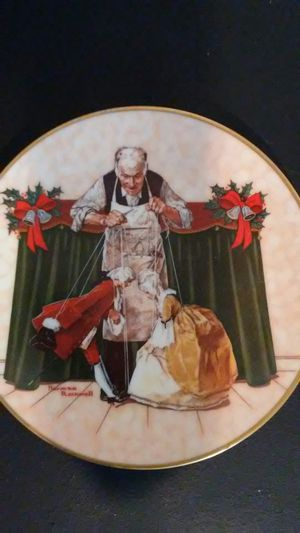 Norman Rockwell christmas plate for Sale in Payson, AZ