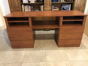 Custom stereo cabinet/desk for Sale in Miami, FL